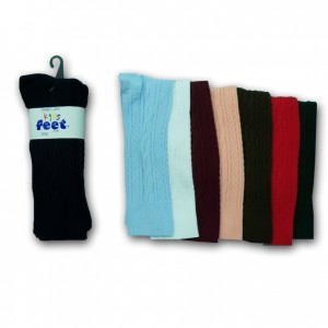 Girl's Knee High School Socks