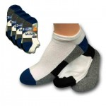 Gildans Boys No Show Assorted Socks