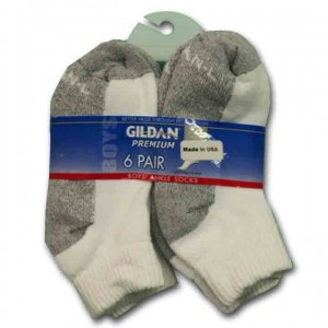 Premium Quarter Socks by Gildan