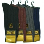 Mens Cotton Rib Socks