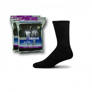 Mens Crew Socks by Gildans